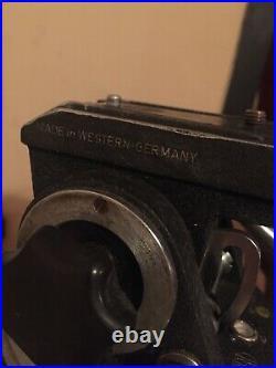 Vintage WOODEN TRIPOD HEAD ARRI IIC 1300 35MM film Antique AND Rare