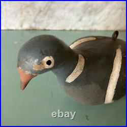 Vintage Wooden PIGEON DECOY Rare James Reed c. 1930 Sporting Hunting Decoys