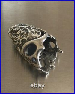 Vtg Antique Art Deco 1930 Solid Sterling Silver Thimble Fully Hallmarked. Rare
