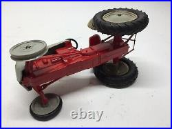 Vtg Antique Rare Aluminum Model Toy Company Ford Tractor 8N withBox